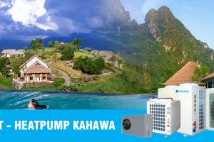Giải pháp nước nóng trung tâm heatpump cho bể bơi- Bể sục- Spa